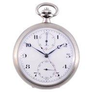 Omega Military Chronograph Pocket Watch