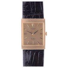 Rolex Cellini Mens 18K Wrist Watch