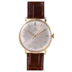 Vintage Bucherer 18K Mens Wrist Watch