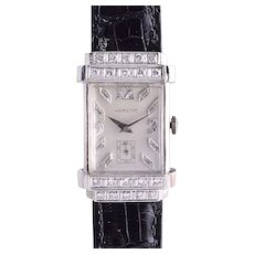 Hamilton Diamond White Gold Wrist Watch