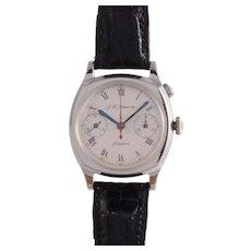 J W Benson Rare Single Button Chronograph Wrist Watch