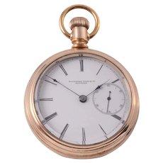 Rockford Rare Oversized Pocket Watch