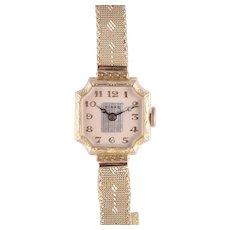 Birks of Canada Art Deco Ladies 14K Wrist Watch