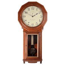 American Ball Watch Co. Model 3 Regulator Wall Clock