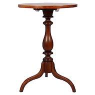 Maple Tilt Top Table