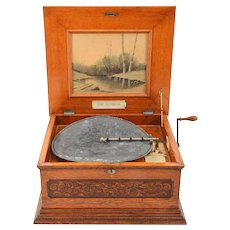 American Olympia Disc Music Box