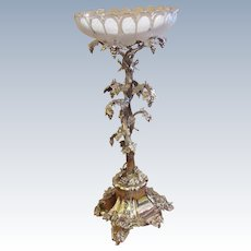 "Large Antique English Victorian Silverplate Centerpiece Elkington 22"" Tall Stunning!"