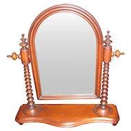 Antique American Mahogany Dressing Mirror Circa 1850