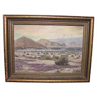 American California Plein Air Oil On Canvas Signed Maya Kelman 1934