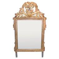 Antique Italian Neo Classical Gilt Mirror Circa 1780