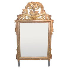 Antique Italian Neo Classical Gilt Mirror Circa 1780