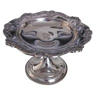 Vintage Gorham Sterling Silver Bon Bon Dish 20th Century