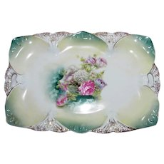 Antique RS Prussia Porcelain Tray Circa 1900