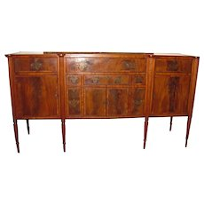 Antique American Federal Mahogany Sideboard Boston Circa 1810