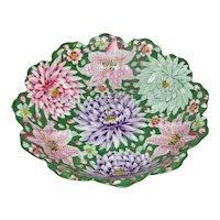 Antique Japanese Hand Painted Porcelain Bowl Circa 1900