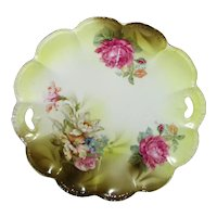 Antique R.S. Germany/Prussia Porcelain Cake Plate Circa 1920