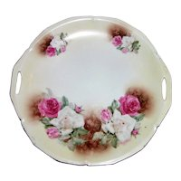 Antique RS Prussia Porcelain Cake Plate Circa 1900