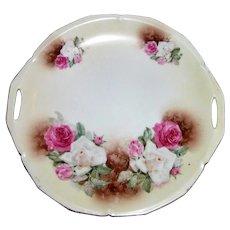 Antique RS Prussia Porcelain Cake Plate Circa 1900