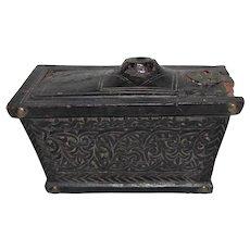 Antique Islamic Box 17th Century or Earlier