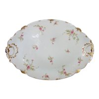 "Antique Haviland Limoges 20"" Serving Platter Circa 1900"