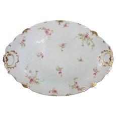 """Antique Haviland Limoges 20"""" Serving Platter Circa 1900"""