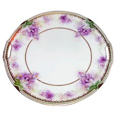 Antique RS Germany/RS Prussia Porcelain Cake Plate Circa 1915