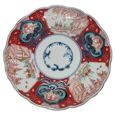 Antique Japanese Imari Dish Meiji Circa 1870