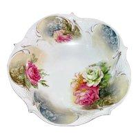 Antique RS Prussia Porcelain Fruit Bowl Circa 1900