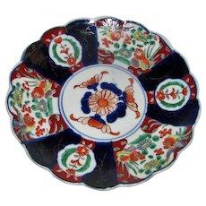 Antique Japanese Imari Plate Meiji Circa 1890-1900