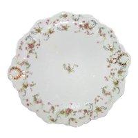 """Antique Haviland Limoges 13"""" Serving Platter Circa 1900"""