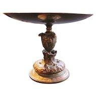 Antique Brass and Copper Tazza 19th Century