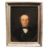 Antique Oil on Panel by David Joseph Bles Dated 1856