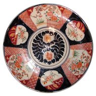 Large Antique Japanese Imari Charger Circa 1890 Meiji