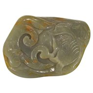Vintage Chinese Jade Carving Circa 1940