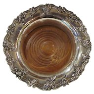 Vintage English Silverplate Wine Coaster 20th Century