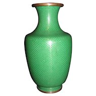Antique Chinese Cloisonne Vase  Circa 1900
