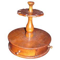 Antique American Spice Box and Spoon Stand Circa 1880