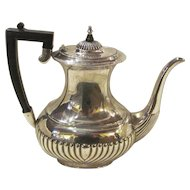 Antique English Silverplate Tea or Coffee Pot Sheffield  Circa 1910