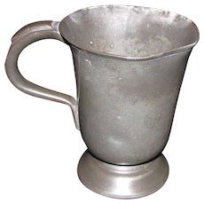 Antique Pewter Mug 19th Century