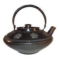 Antique Chinese Export Copper Teapot 19th Century