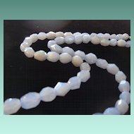 Funky Chunky Chalcedony Beaded Necklace
