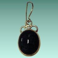 14K Black Onyx Earrings