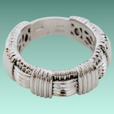 Roberto Coin Appassionata 18K White Gold Ring