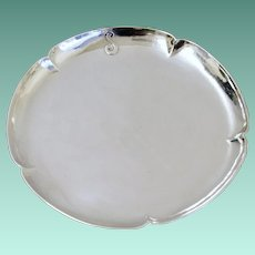Arts & Crafts Hand Wrought Sterling Silver Plate, The Kalo Shop