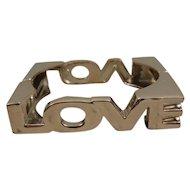 Vintage LOVE Bracelet