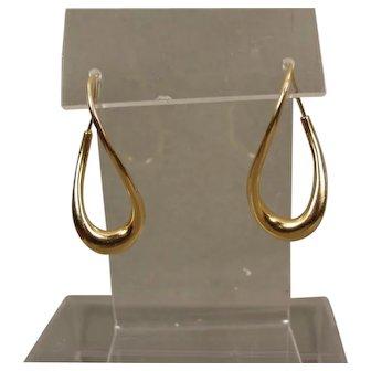 18K Michael Good Mini Half Twist Earrings