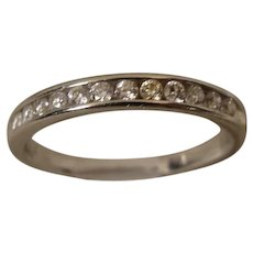 Platinum Diamond Band Ring II