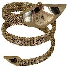 Vintage Moderne Snake Watch