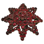 Victorian Bohemian Garnet PIN