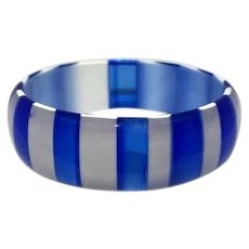Lucite Bangle Bracelet ca. 1960 Best Plastic Co. R.I.